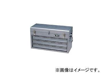 京都機械工具/KTC チェスト(3段3引出し)メタリックシルバー SKX0213S(3073351) JAN:4989433829081