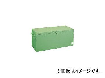 トラスコ中山/TRUSCO 大型車載用工具箱 棚1段付 900×520×650 FT9000(2390655) JAN:4989999510881