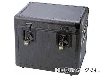 トラスコ中山/TRUSCO 万能アルミ保管箱 黒 480×360×410 TAC480BK(4162943) JAN:4989999211221