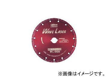 ロブテックス/LOBSTER ダイヤモンドホイール ウェブレーザー(乾式) 304mm穴径25.4mm WL305254(1245091) JAN:4963202043908