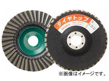 トラスコ中山/TRUSCO ダイヤトップ ミックスタイプ 100×15×16 100# PSDT10011 100(2168391) JAN:4989999227857