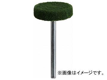 トラスコ中山/TRUSCO フェルトミニホイール 平型 φ20 研磨用 緑色 10個入 SF205SB(1441850) JAN:4989999171990