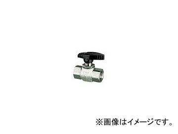 フジキン/FUJIKIN ステンレス鋼製4.90MPaパネルマウント式ボール弁 PUBV15D(3655199)