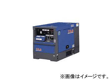デンヨー/DENYO 防音型ディーゼルエンジン発電機 TLG7.5LSK