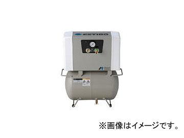 アネスト岩田/ANEST-IWATA オイルフリー小型ブースタコンプレッサ 0.75KW EFBS079.5