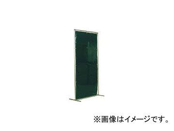 吉野/YOSHINO 遮光フェンスアルミパイプ 2×2 単体固定 ダークグリーン YS22SFDG(3528928) JAN:4571163731415