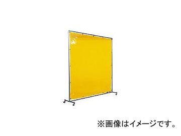 吉野/YOSHINO 遮光フェンスアルミパイプ 1×2 単体キャスター イエロー YS12SCY(3528693) JAN:4571163731286