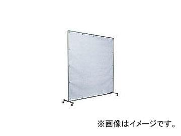 吉野/YOSHINO 火花用衝立アルミパイプ 2×2 単体キャスター YS22SCBW(3528863) JAN:4571163731637