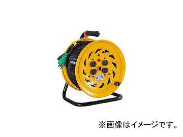 日動工業/NICHIDO 電工ドラム 標準型100Vドラム アース付 30m NFE34(1255622) JAN:4937305011157