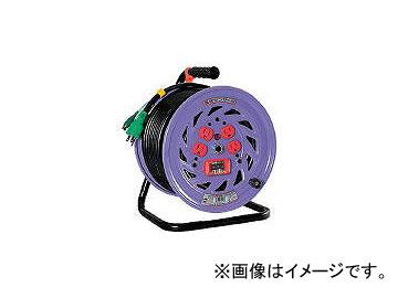 日動工業/NICHIDO 電工ドラム 標準型100Vドラム アース過負荷漏電しゃ断器付 30m NFEK34(1255681) JAN:4937305011119