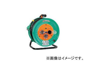日動工業/NICHIDO 電工ドラム 防雨防塵型100Vドラム アース付 30m NWE33(1255860) JAN:4937305002919