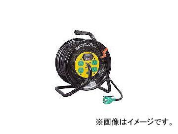 日動工業/NICHIDO 電工ドラム マジックリール 100V アース漏電しゃ断器付 30m ZEB34(1645129) JAN:4937305019979
