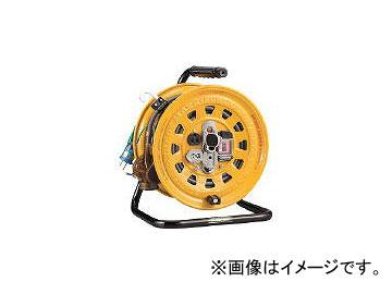 ハタヤリミテッド/HATAYA 逆配電型ブレーカーリール 単相100Vアース付 27+6m GBM130K(1061861) JAN:4930510208046