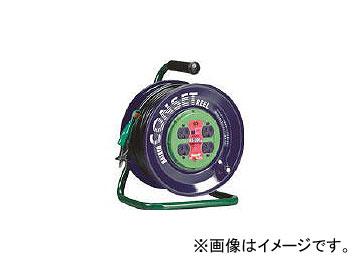 ハタヤリミテッド/HATAYA コンセント盤固定型コードリール 単相100Vアース付 30m KS30K(3703614) JAN:4930510207810