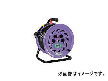 日動工業/NICHIDO 電工ドラム 単相200Vドラム アース漏電しゃ断器付 30m NFEB23015A(1259814) JAN:4937305018897