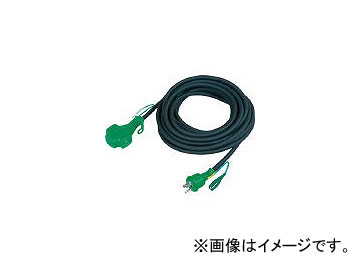 日動工業/NICHIDO トリプルポッキン延長コード アース付30Mタイプ PPT30E(3686540) JAN:4937305006184