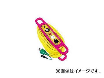 日動工業/NICHIDO ハンドリール スピコンハンドリール 100V アース付 10m SHE102(1526413) JAN:4937305010174