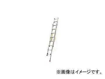ピカコーポレイション/PICA 脚アジャスト式2連はしごLGW型電柱支え・巻付ベルト付属4.2~4.6m LGW44GD(3934365)