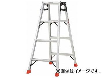 トラスコ中山/TRUSCO はしご兼用脚立 アルミ合金製・脚カバー付 高さ1.11m THK120(5123674) JAN:4989999790115