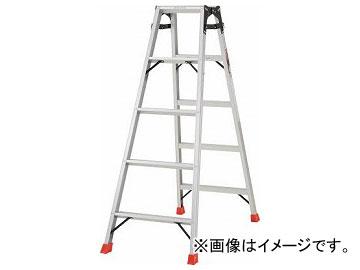 トラスコ中山/TRUSCO はしご兼用脚立 アルミ合金製・脚カバー付 高さ1.40m THK150(5123682) JAN:4989999790122