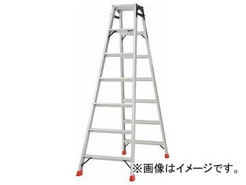 トラスコ中山/TRUSCO はしご兼用脚立 アルミ合金製脚カバー付 高さ1.98m TPRK210(2737621) JAN:4989999780451