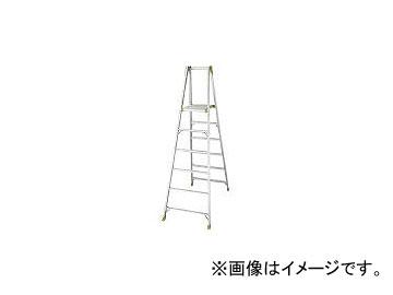 長谷川工業/HASEGAWA アルミ合金製上枠付専用脚立 KS15(2439247)