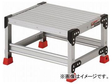 トラスコ中山/TRUSCO 作業用踏台 アルミ製・高強度タイプ 1段 TSF153(2621606) JAN:4989999791488