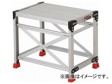 トラスコ中山/TRUSCO 作業用踏台 アルミ製・高強度タイプ 1段 TSF165(2621622) JAN:4989999791501