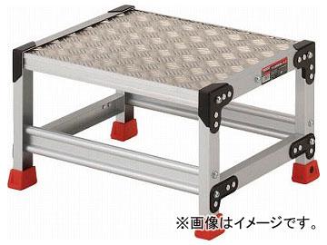 トラスコ中山/TRUSCO 作業用踏台 アルミ製・縞板タイプ 天板寸法500×400×H300 TSFC153(3365085) JAN:4989999013917