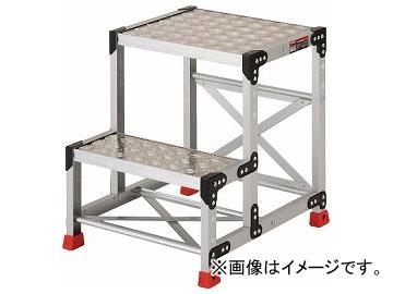 トラスコ中山/TRUSCO 作業用踏台 アルミ製・縞板タイプ 天板寸法500×400×H600 TSFC256(3365115) JAN:4989999013948
