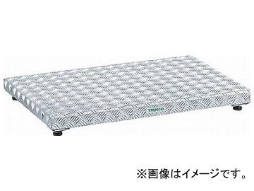 トラスコ中山/TRUSCO 低床式アルミ製ステップ 900×600×H90~120 TFS0960AL(2775786) JAN:4989999780406