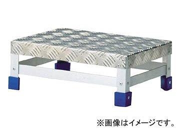 トラスコ中山/TRUSCO ステップ アルミ製・縞板タイプ 400×300×H150 TFS1543(3418014) JAN:4989999016956