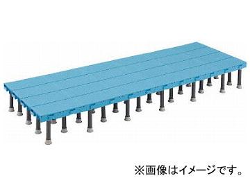 トラスコ中山/TRUSCO 樹脂ステップ高さ調節式600×1500 DS6015H(4163567)