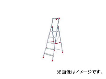 ピカコーポレイション/PICA 上わく付き踏台CF型5段 CF5(3602028) JAN:4989247458033