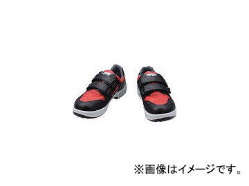 シモン/SIMON 安全靴 トリセオシリーズ 短靴 赤/黒 23.5 8518REDBK23.5(3607828) JAN:4957520155405
