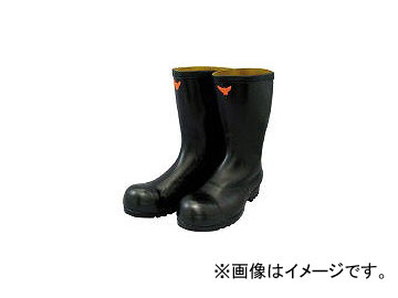 シバタ工業/SHIBATA 安全耐油長靴(黒) SB02126.0(3242323) JAN:4582281920889