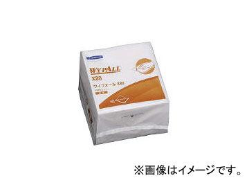 日本製紙クレシア/CRECIA ワイプオールX80 4つ折 60580(3927725) JAN:4901750603809