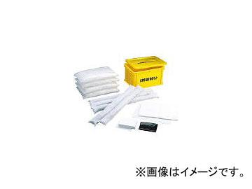 橋本クロス/HASHIMOTO-CLOTH 非常用油液吸収キット 容器付 550×400×300mm S1(3241181) JAN:4560170001741