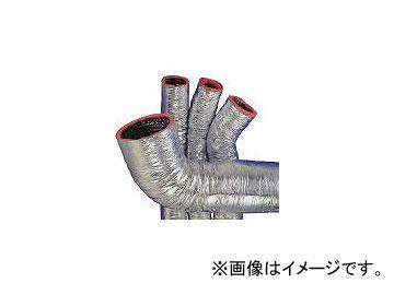 オリエント商事/ORIENTSHOJI 保温付フレキシブルダクト風神 φ450 × 7.6m MHP25450(4202244)