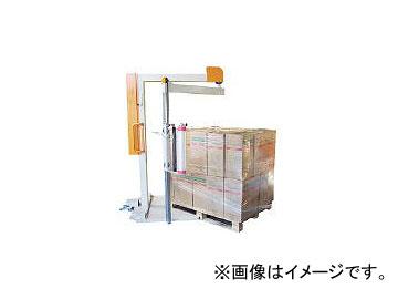 【超歓迎】 移動式手動型パレットストレッチ包装機 KURUKURUMAC:オートパーツエージェンシー くるくるマック 司化成工業/TSUKASA-DIY・工具