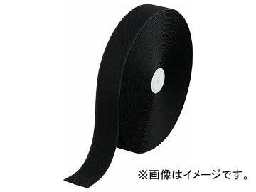 トラスコ中山/TRUSCO 面ファスナー 縫製用B側 幅50mm×長さ25m 黒 TMBH5025BK(3619532) JAN:4989999098235