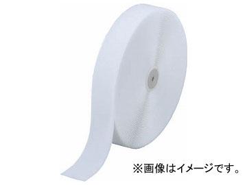 トラスコ中山/TRUSCO 面ファスナー 縫製用B側 幅50mm×長さ25m 白 TMBH5025W(3619516) JAN:4989999098211