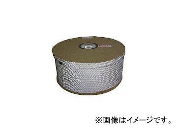 ユタカメイク/YUTAKAMAKE ナイロン3ツ打ロープドラム巻 9φ×150m PRJ5(3708730) JAN:4903599062847