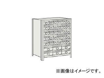 愛用  大×6 43V808A5B2 小×30 トラスコ中山/TRUSCO JAN:4989999721102:オートパーツエージェンシー 875×300×H1200 軽量棚 NG(5103347) スチール引出-DIY・工具
