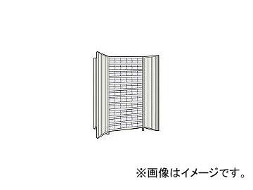トラスコ中山/TRUSCO 軽量棚扉付 875×383×H1800 樹脂引出透明 小×66 63VT812C11 NG(5043646) JAN:4989999723373