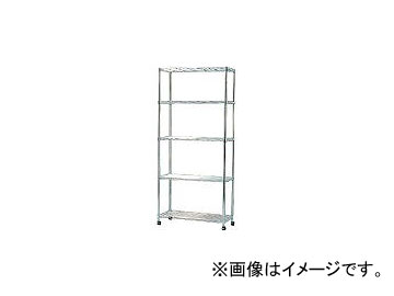 アイリスオーヤマ/IRISOHYAMA スチールラック メタルミニ(キャスター付)800×350×1745 MTO8018C(3285294) JAN:4905009309917