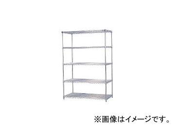 アイリスオーヤマ/IRISOHYAMA メタルラック(ポール径25) 1200×610×1790 MR1218DJ(3852580) JAN:4905009421749