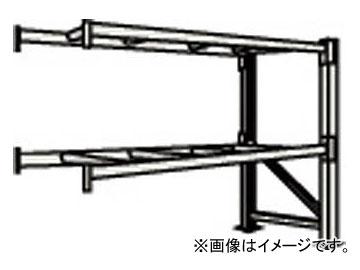 トラスコ中山/TRUSCO 重量パレット棚2トン2300×900×H2000連結 2段 2D20B23092B