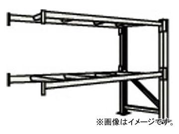 トラスコ中山/TRUSCO 重量パレット棚2トン2300×1100×H2000連結 2D20B23112B