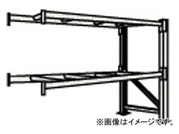 トラスコ中山/TRUSCO 重量パレット棚2トン2500×1100×H2000連結 2D20B25112B